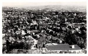 California Aerial View of Hollywood