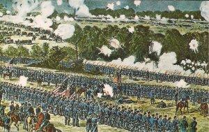 Richmond VA, Battle of Malvern Hill, Civil War Art, Confederate & Union Position