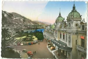 Monaco, MONTE-CARLO, Le Casino et le Cafe de Paris, used Postcard