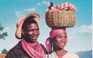 Haitian couple, Pierre and Jeanne, Haiti, West Indies, 40-60s