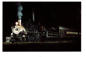 Mississippi Railway Train, Columbia at Night
