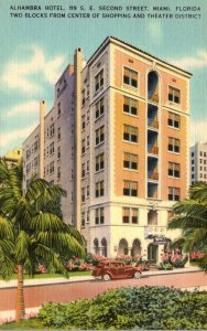 Florida Miami The Alhambra Hotel 119 S E Second Street