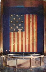 Original Star Spangled Banner Which Inspired the National