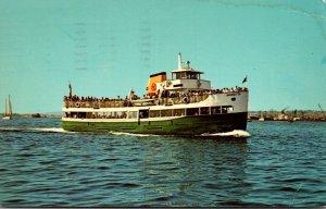 California San Diego Harbor Excursion Boat Marietta 1968