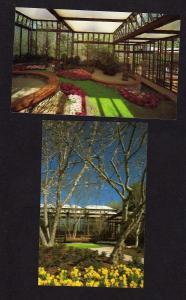 GA Lot 2 Callaway Gardens Georgia Postcards Floral Conservatory Pine Mountain