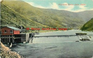 ID, Boise, Idaho, Highland Valley Company Power Co, River Dam, Sprouse No 4269
