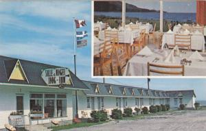 Motel Etoile D'Or , Riviere-a-Claude , Gaspe Nord , Quebec , Canada , 50s-60s