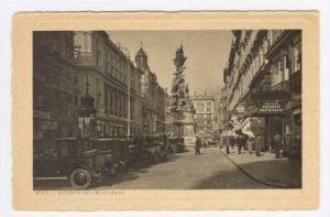 WIEN I., Graben mit Pestsaule, Austria,1920s