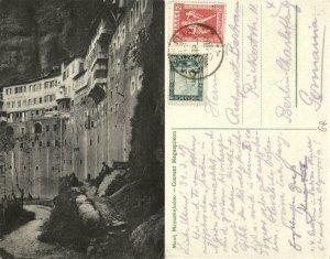 greece, KALAVRYTA, Monastery Megaspileo, Mega Spileo (1929) Postcard