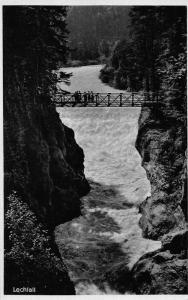 Lechfall Bridge River Forest Postcard