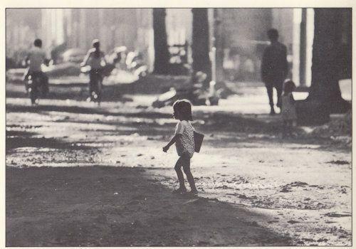 Cambodia Phnom Penh Rush Hour Destruction Postcard