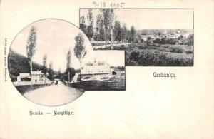 Czobanka Pomaz Hungary Margitliget Scenic View Antique Postcard J77837
