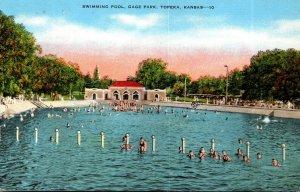 Kansas Topeka Gage Park Swimming Pool