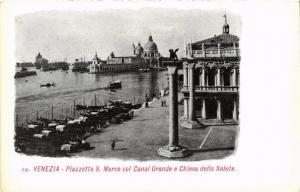 CPA Venezia Piazzetta S.Marco col Canal Grande. ITALY (524884)