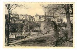 Luxembourg , Vue sur la Corniche, 20-40s