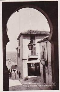 Spain Toledo Arco y Posada de la Sangre Photo
