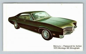 1970 Mercury Montego MX Brougham Chrome Postcard