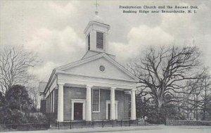 New Jersey Bernardsville Presbyterian Church and Ancient Oak Albertype