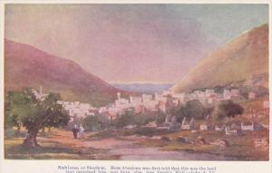NABLOUS, Palestine, 1900-1910's; Abraham Was First Told That This Was The Lan...