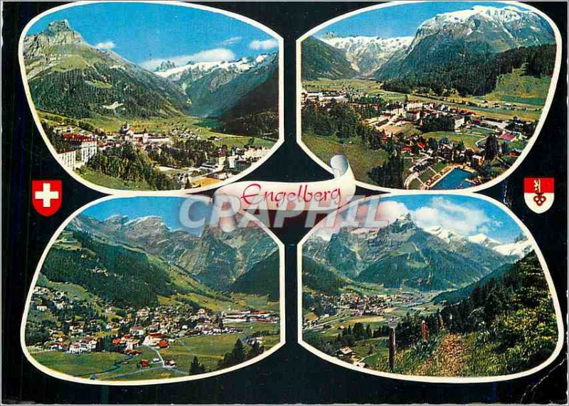Postcard Modern Engelberg