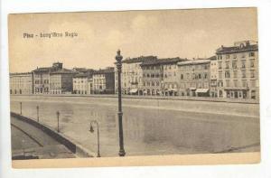 Lung' Arno Regio, Pisa (Tuscany), Italy, 1900-1910s