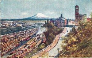 Tacoma WA Washington Tuck Postcard G26