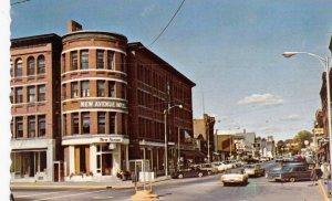 ST. JOHNSBURY , Vermont , 50-60s ; Railroad Street ,
