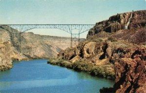 Postcard Twin Falls Jerome Bridge Idaho
