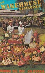 MARINA DEL REY , California , 1950-60s ; The WAREHOUSE Restaurant