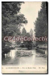 Old Postcard La Roche sur Yon Pres du Moulin costs