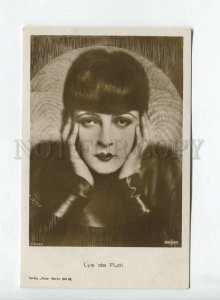 438468 LYA DE PUTTI Famous MOVIE FILM Actress Vintage postcard #1700-3