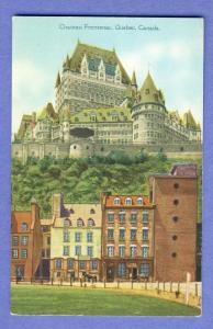 Old Quebec,Canada Postcard, Chateau Frontenac Hotel