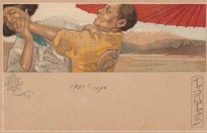 Art Nouveau of Opera IRIS by MATALONI , 1900-10s #3