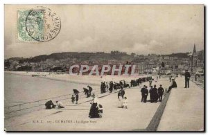 Le Havre Old Postcard The North dike