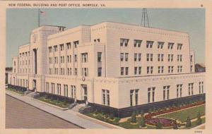 Virginia Norfolk New Federal Building And Post Office