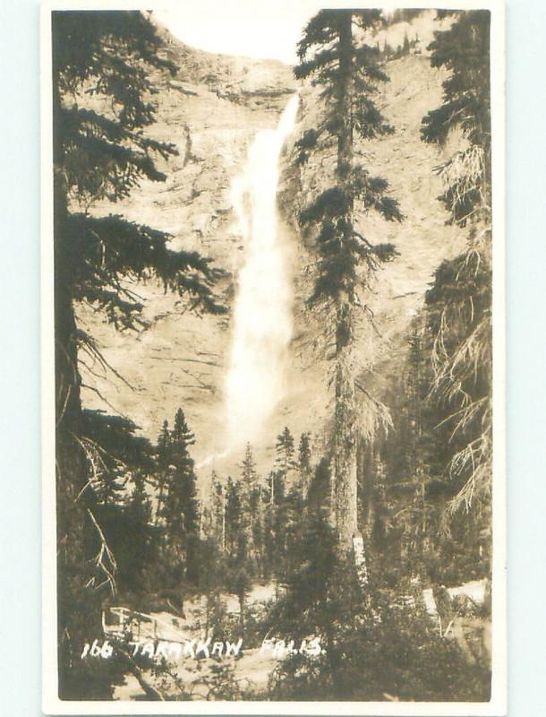 1950's rppc NICE VIEW Yoho National Park - Field British Columbia BC W0983