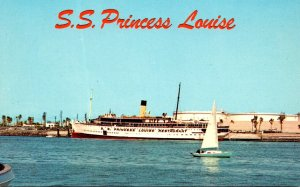 California San Pedro S S Princess Louise