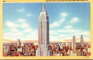New York City Empire State Building Curteich