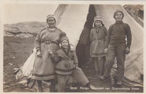RP; NORWAY, 1910-30s ; Lappeier ved Djupvasshytta Hotel