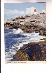 Breakers and Lighthouse, Peggy's Cove, Halifax, Nova Scotia