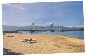 Scene, Okanagan Lake Bridge In Background, Kelowna, B.C., Canada, 1940-1960s