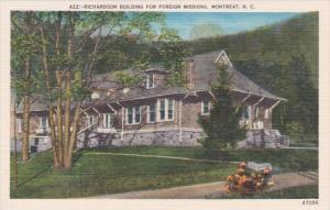 North Carolina Montreat Richardson Building For Foreign Missions