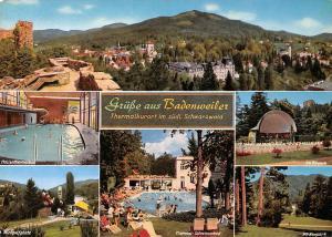 Badenweiler Thermalkurort Minigolfplatz Thermal Schwimmbad Im Kurpark Schwimmbad