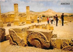 Israel Old Vintage Antique Post Card Hisham's Palace Jericho Unused