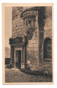 France Loches Chateaux de la Loire Agnes Sorel Tower YVON Vtg Postcard