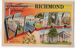 Large Letter - VIRGINIA