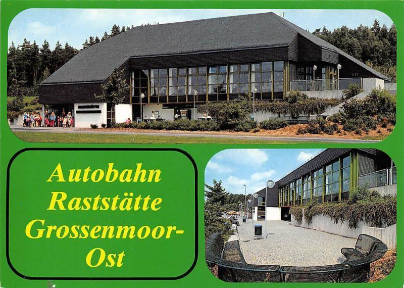 Burghaun BAB-Raststaette Grossenmoor-ost Helmut Menn Autobahn