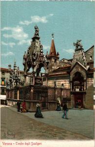 CPA VERONA Tombe degli Scaligeri . ITALY (448575)