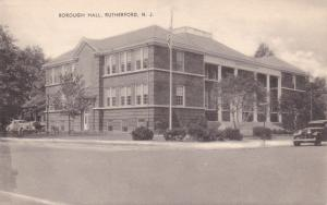 RUTHERFORD , New Jersey, 1930s , Borough Hall