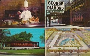 George Diamond Restaurant Chicago & Antioch Illinois and Palm Springs Califor...